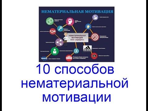 10 способов нематериальной мотивации