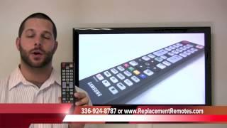 Samsung BN5901041A Remote Control PN: BN5901041A - ReplacementRemotes.com