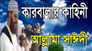 কারবালার কাহিনী, allama delwar hossain sayeedi bangla waz