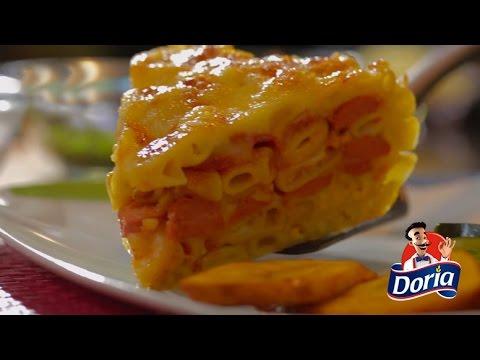Torta de codos Doria con Salchichas