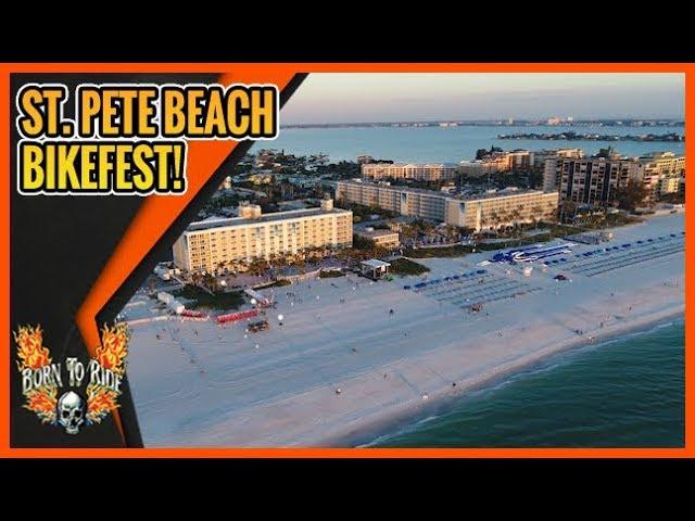Born To Ride Episode 1193 - St. Pete Beach Bikefest -  Pinellas Bikefest - Gibtown Bikefest