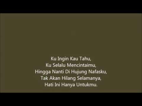 Lirik Lagu Fareez – Ku Ingin Kau Tahu