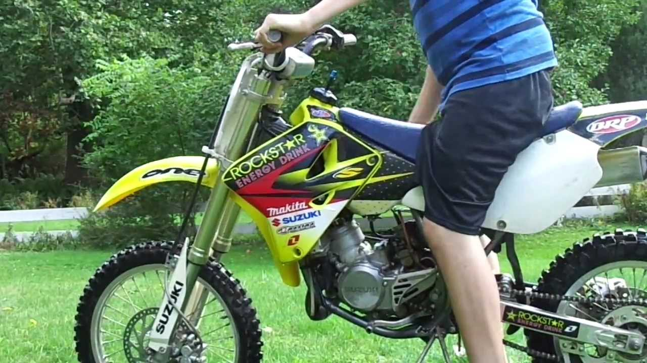 suzuki rm85L for sale - YouTube