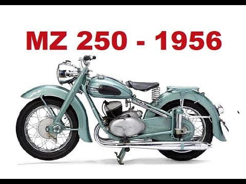 motorcycle adventure with mz 250 doppelport 1956 youtube. Black Bedroom Furniture Sets. Home Design Ideas