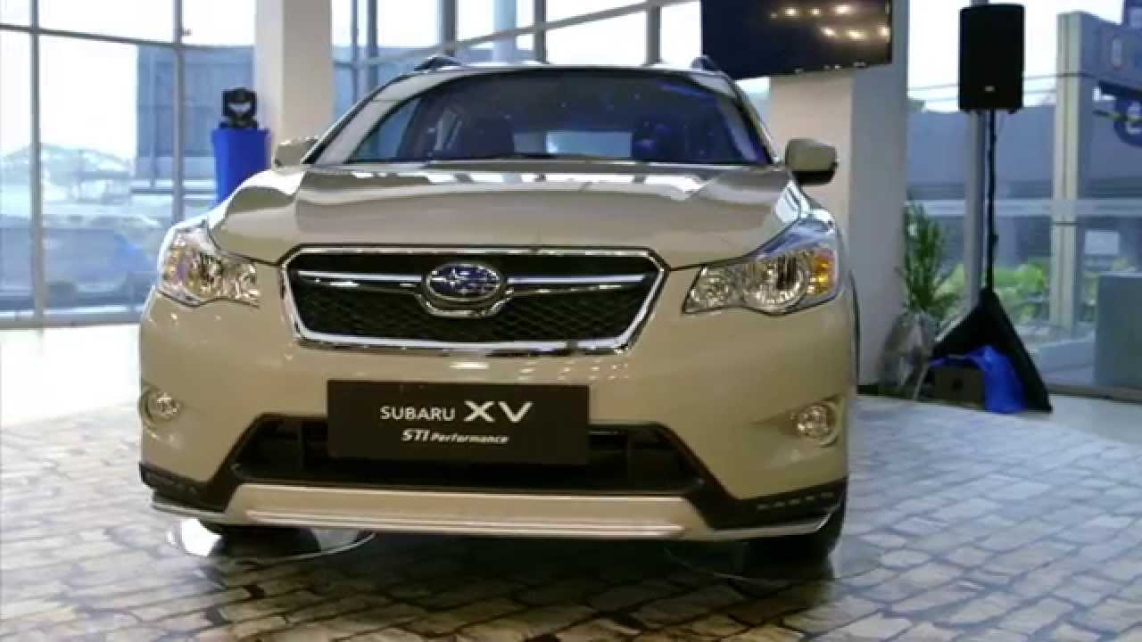 New Subaru Xv >> Motor Image Subaru Malaysia XV STI Performance Edition Review 2014 - YouTube