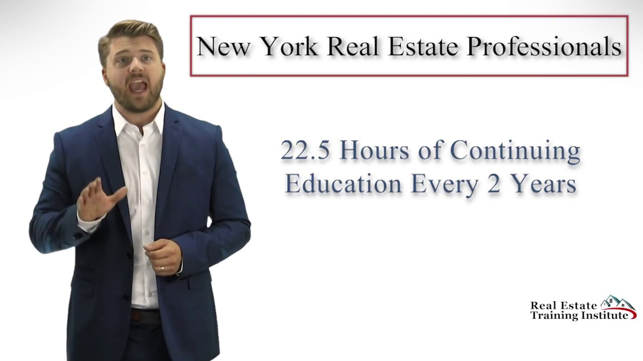 New York Real Estate Continuing Education Youtube
