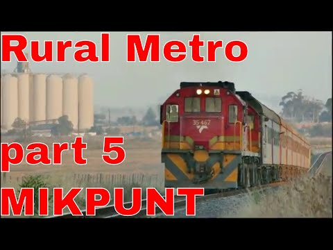 A Rural Metro in South Africa part 5 - MIKPUNT Going to work via Train