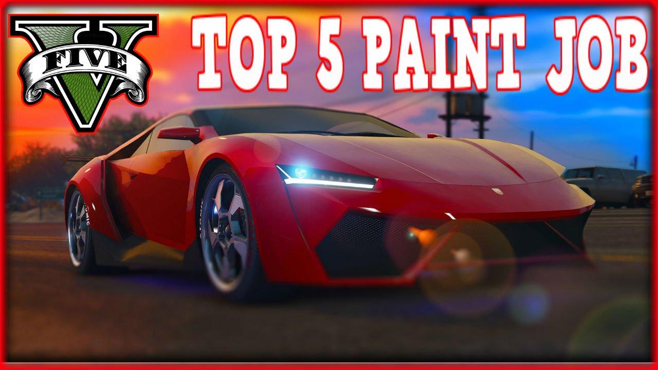 gta 5 - pegassi reaper top 5 paint job -  gta 5