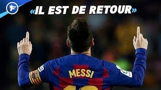 Lionel Messi frappe fort et fait les gros titres | Revue de presse