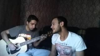 песня под гитару : карие глаза (cover by samer)