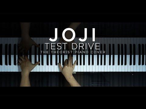 Joji - Test Drive | The Theorist Piano Cover