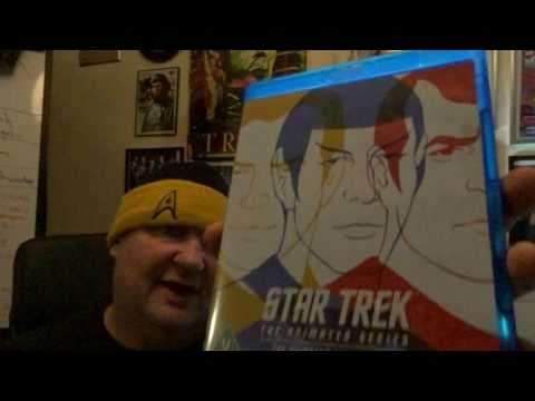 STAR TREK THE ANIMATED SERIES BLUE RAY REVIEW