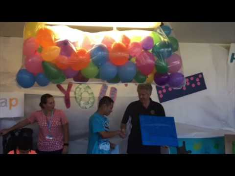 Willis Peters Exceptional Center's Shade Structure Ribbon Cutting