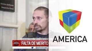 Dictaron la falta de mérito a Pérez Corradi en la causa por el triple crimen