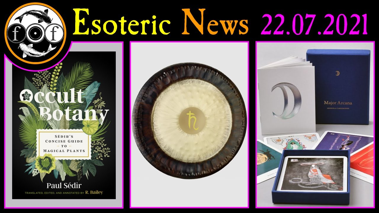 New Occult & Esoteric Books, Events, and Other Stuff!  [ *Foolish Fish News 15 July 2021* ]