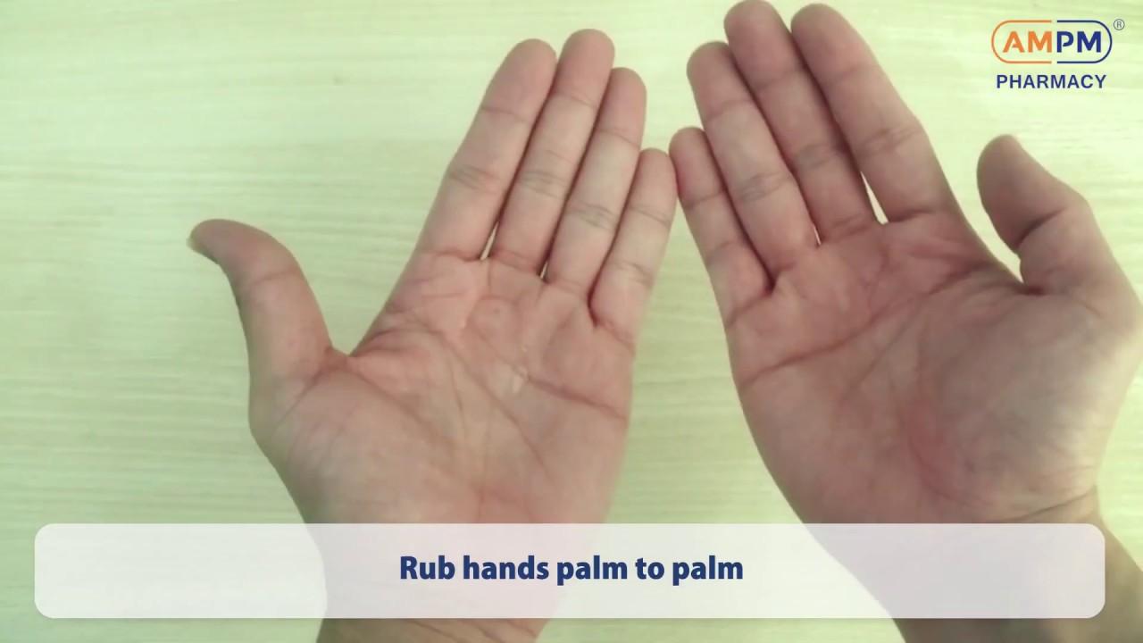 今天才知道原来消毒液是这样用的 Are You Properly Applying Hand Sanitizer?