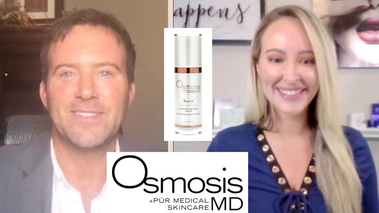 Anti Aging With Dr Ben Johnson Osmosis Skincare Get Younger Skin Alcohol Denat New Products Youtube