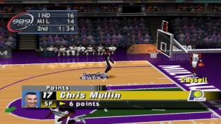 NBA ShootOut 2000 PS1 Gameplay HD