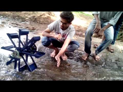Micro Hydro Power System project