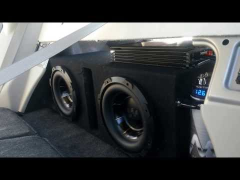 hook up subs amp