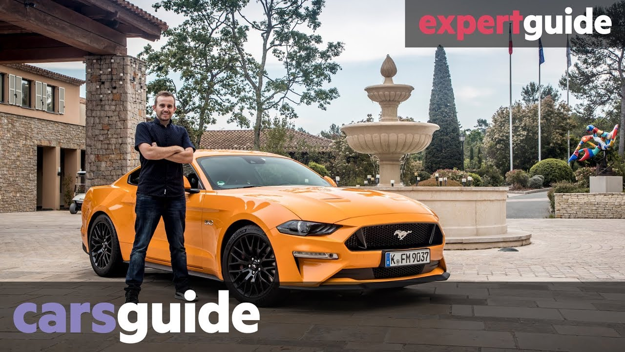 Ford mustang 2018 review gt and ecoboost