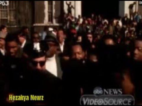 "8 DAYS BEFORE HIS MURDER: ""MLK VISITS NEWARK, NEW JERSEY"""