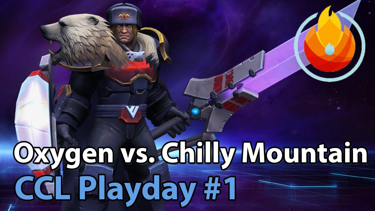 CCL Heroes: Oxygen vs. CM - Heroes of the Storm Tournament