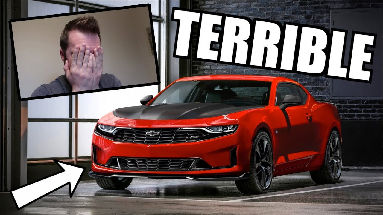 My Reaction To The 2019 Camaro Refresh Chevy Messed Up