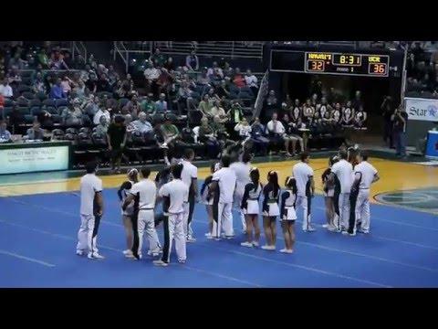 University of Hawaii Cheerleaders  2-25-16