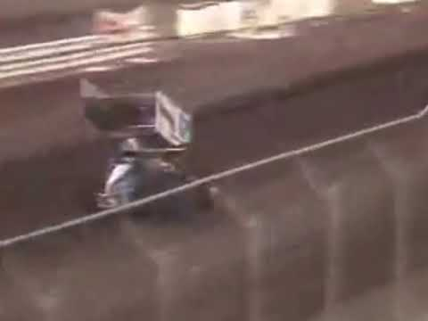 Calistoga Speedway Racing. - dirt track racing video image