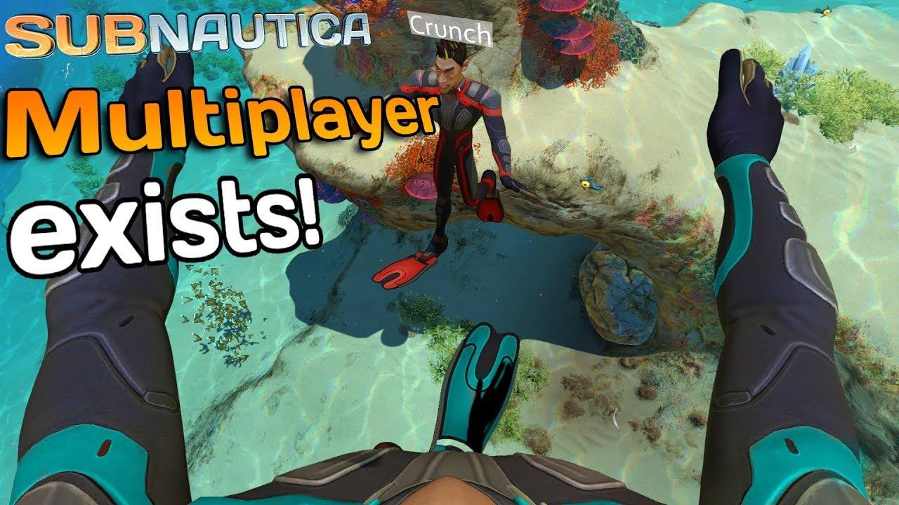 Subnautica Multiplayer It Exists Subnautica Nitrox Youtube
