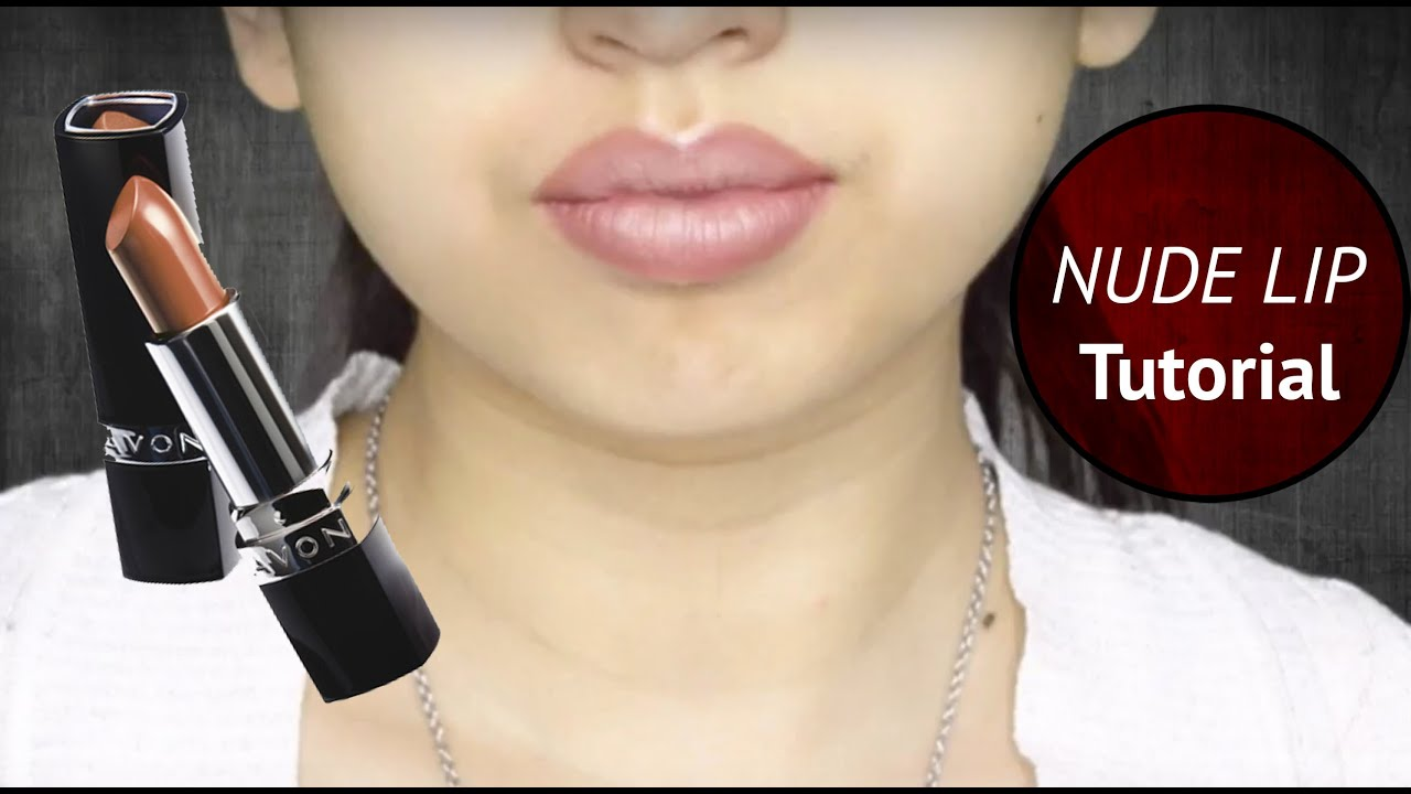 Nude Lip By Avon Youtube