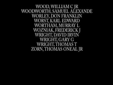 Names Of POW-MIA (Vietnam War)
