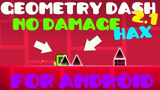 Geometry Dash 2.1 No Damage Mod for android NO ROOT