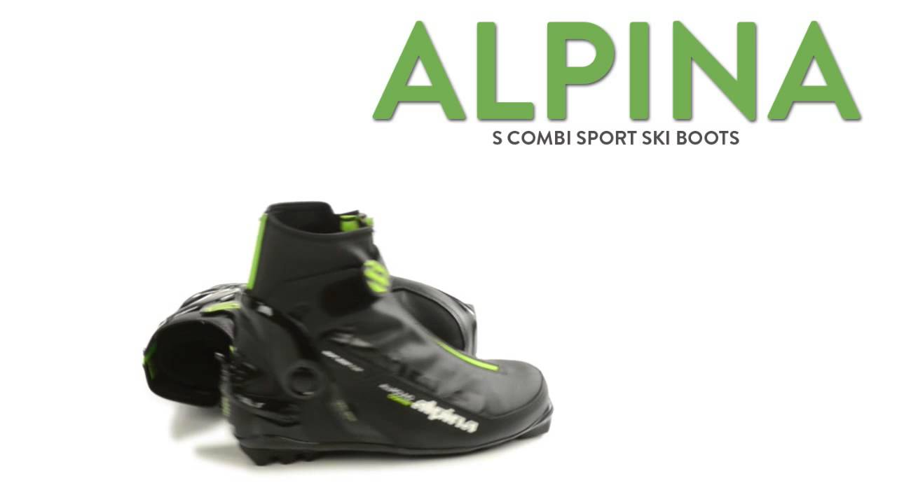 Alpina S Combi Sport Ski Boots Insulated NNN For Men And Women - Alpina combi boots