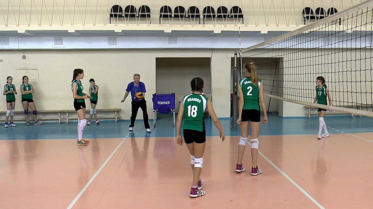 Волейбол обучение. Девушки. Тактика и позиции игроков. Тренировка. Часть 9