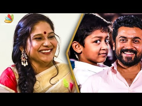 Suriya's Son Got Scared and Ran Away From Me :  Mounika Inte