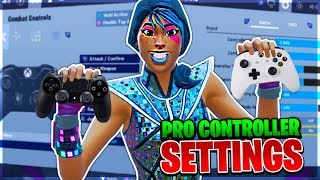 The BEST CONTROLLER SETTINGS for AIM and BUILDING! (PS4 and XBOX Fortnite Season 10)
