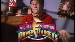 Bandai Power Rangers Toy Commercial 1994