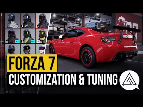 Forza Motorsport 7 | All Tuning & Customization Options + All Driver Gear