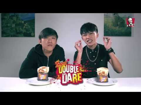 Kfc Double Daredevils Big Mouth Challenge Tosh & Weiliang
