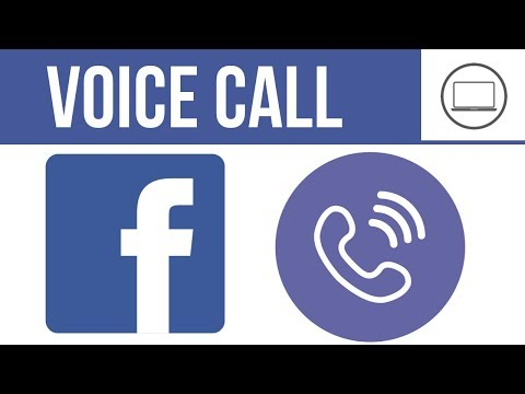 How To Do Voice Call From Laptop, Pc, Computer On Facebook | 2019