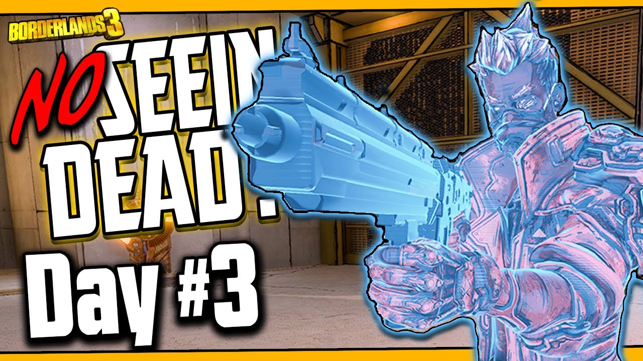 WHO NEEDS GUNS?! | No Seein' Dead Zane | Day #3 [Borderlands 3] thumbnail