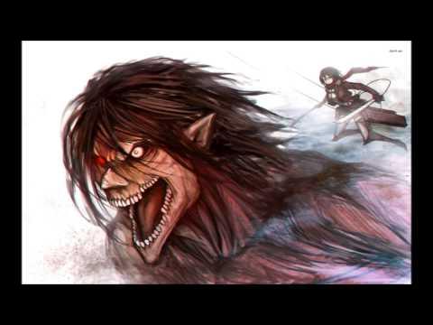 Sort of Hollowfied Eren's Roar! (In Japanese & English!!)