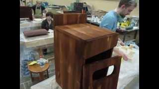 Обучение столярному делу в столярной мастерской