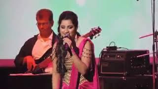 Saans Mein Teri by Shreya Ghoshal live performens