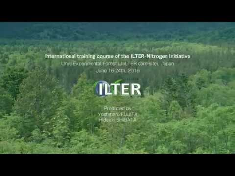 ILTER Nitrogen Initiative Training Course 2016 in Japan (Short version 1 minute)