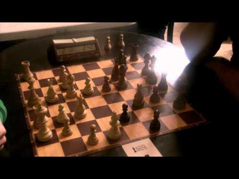 GM Ulybin Mikhail - GM Shabalov Alexander, chess blitz, Sicilian Taimanov 3.C3