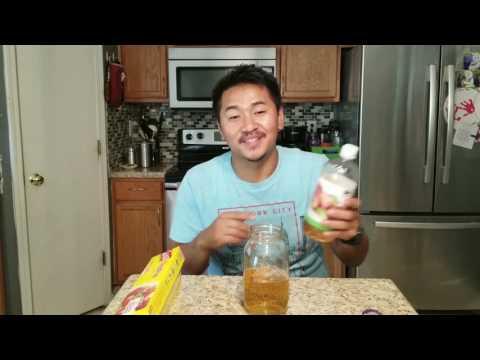 homemade-gnat-trap---apple-cider-vinegar