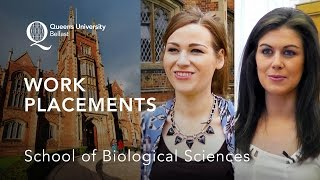 Work Placements – School of Biological Sciences